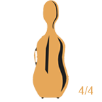 Estuches para violoncello 4/4