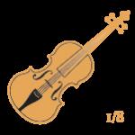 Violines 1/8