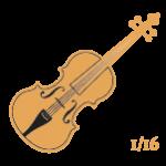 Violines 1/16