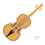 """Violas 11"""""""